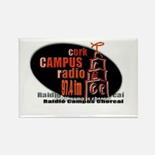 Funny Radio station Rectangle Magnet