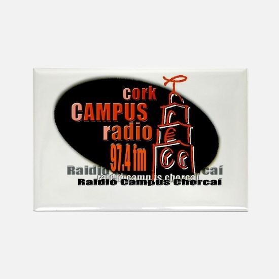 Unique Radio station Rectangle Magnet