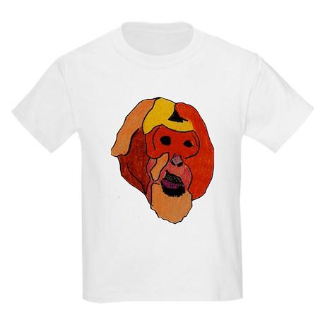 Bear Macaque Kids Light T-Shirt