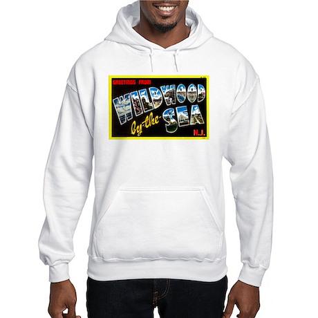Greetings from Wildwood Hooded Sweatshirt
