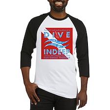 Dive Indeep Logo on Dive Flag Baseball Jersey