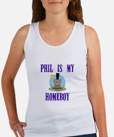 Homeboy Groundhog Day Women's Tank Top