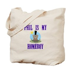 Homeboy Groundhog Day Tote Bag