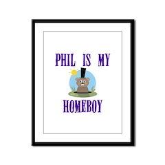 Homeboy Groundhog Day Framed Panel Print