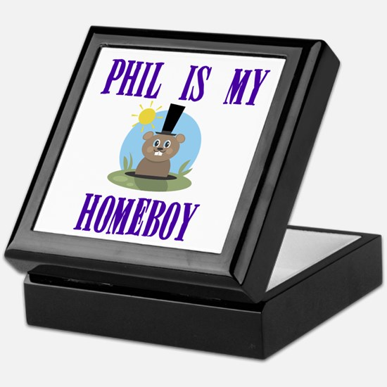 Homeboy Groundhog Day Keepsake Box