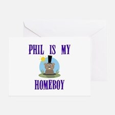 Homeboy Groundhog Day Greeting Card