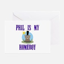 Homeboy Groundhog Day Greeting Cards (Pk of 10)