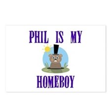 Homeboy Groundhog Day Postcards (Package of 8)