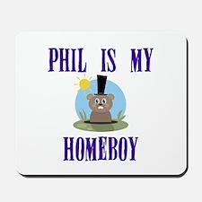 Homeboy Groundhog Day Mousepad