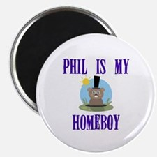 Homeboy Groundhog Day Magnet