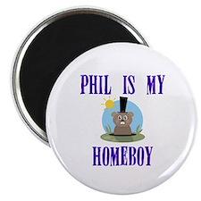 """Homeboy Groundhog Day 2.25"""" Magnet (100 pack)"""