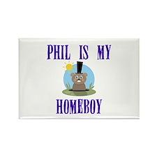 Homeboy Groundhog Day Rectangle Magnet
