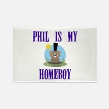 Homeboy Groundhog Day Rectangle Magnet (100 pack)