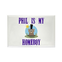 Homeboy Groundhog Day Rectangle Magnet (10 pack)