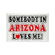 Arizona 2 Rectangle Magnet
