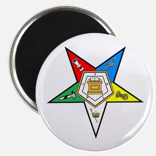 Eastern Star Magnet