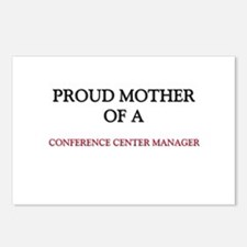 Proud Mother Of A CONFERENCE CENTER MANAGER Postca