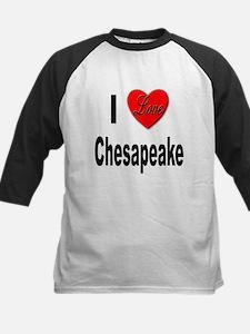 I Love Chesapeake Tee