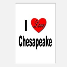 I Love Chesapeake Postcards (Package of 8)