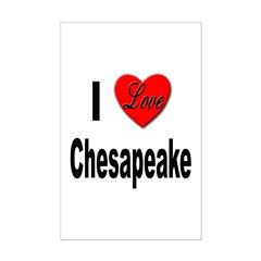 I Love Chesapeake Posters