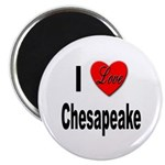 I Love Chesapeake Magnet