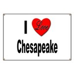 I Love Chesapeake Banner