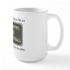 Basketball Priority - Large Mug