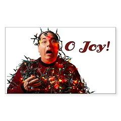 O Joy! Rectangle Sticker 10 pk)