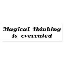 OCD Magical thinking Bumper Bumper Sticker