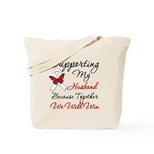 Cancer Support Husband Tote Bag