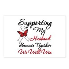 Cancer Support Husband Postcards (Package of 8)