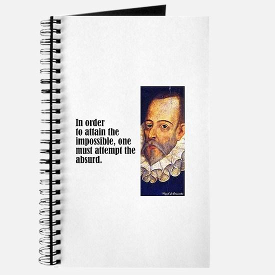 "Cervantes ""Absurd"" Journal"