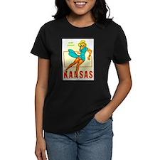 Vintage Kansas Pin-up Tee