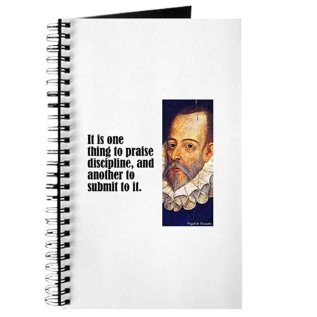 "Cervantes ""Discipline"" Journal"