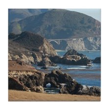 Big Sur, California Tile Coaster