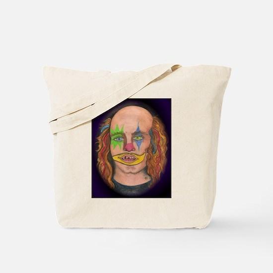 Creepy the Clown Tote Bag