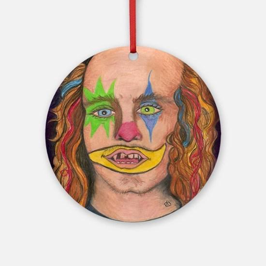 Creepy the Clown Ornament (Round)