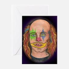 Creepy the Clown Greeting Card