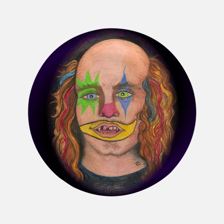 "Creepy the Clown 3.5"" Button"