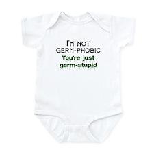OCD germ-phobic/stupid Infant Bodysuit