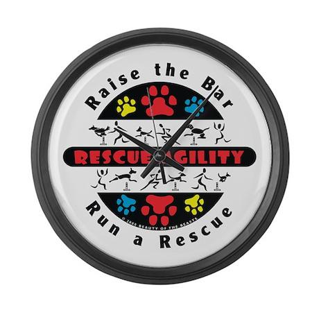 Rescue Agility - Raise Large Wall Clock