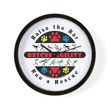 Rescue Agility - Raise Wall Clock