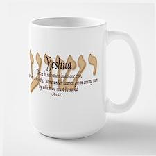 Yeshua Acts 4:12 Mug