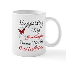 Cancer Support Granddaughter Mug