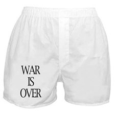 War Is Over Boxer Shorts
