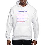 Ten reasons to swim - Male Hooded Sweatshirt