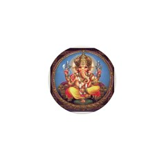 Ganesh Mini Buttons (10 pack)