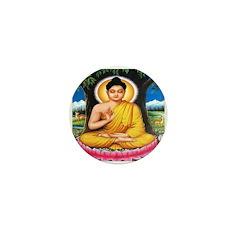 Buddha Mini Buttons (10 pack)