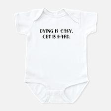 OCD CBT is hard Infant Bodysuit