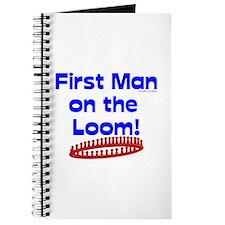 Loom Knitting Man Journal